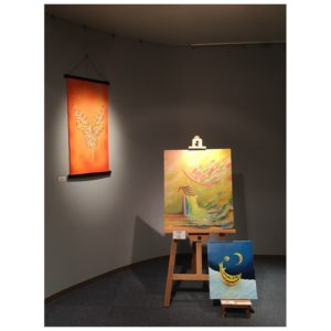 個展-201811妙香園画廊-名古屋栄1